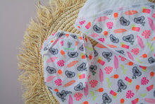 Load image into Gallery viewer, Reusable Swim Nappy & Waterproof Wet Bag- Pink Koala
