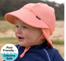 Load image into Gallery viewer, Beach Legionnaire UPF50+ Swim Hat - Peach