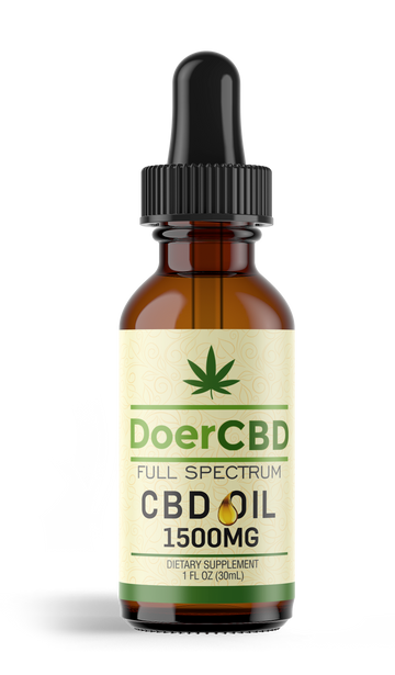 Full Spectrum CBD Oil - 1500mg - Unflavored