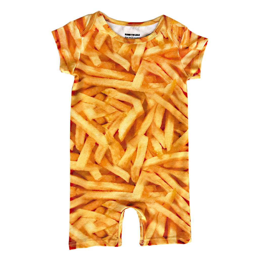 Short Romper - Fries