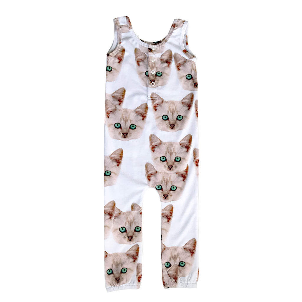 Roro Romper - Kitty