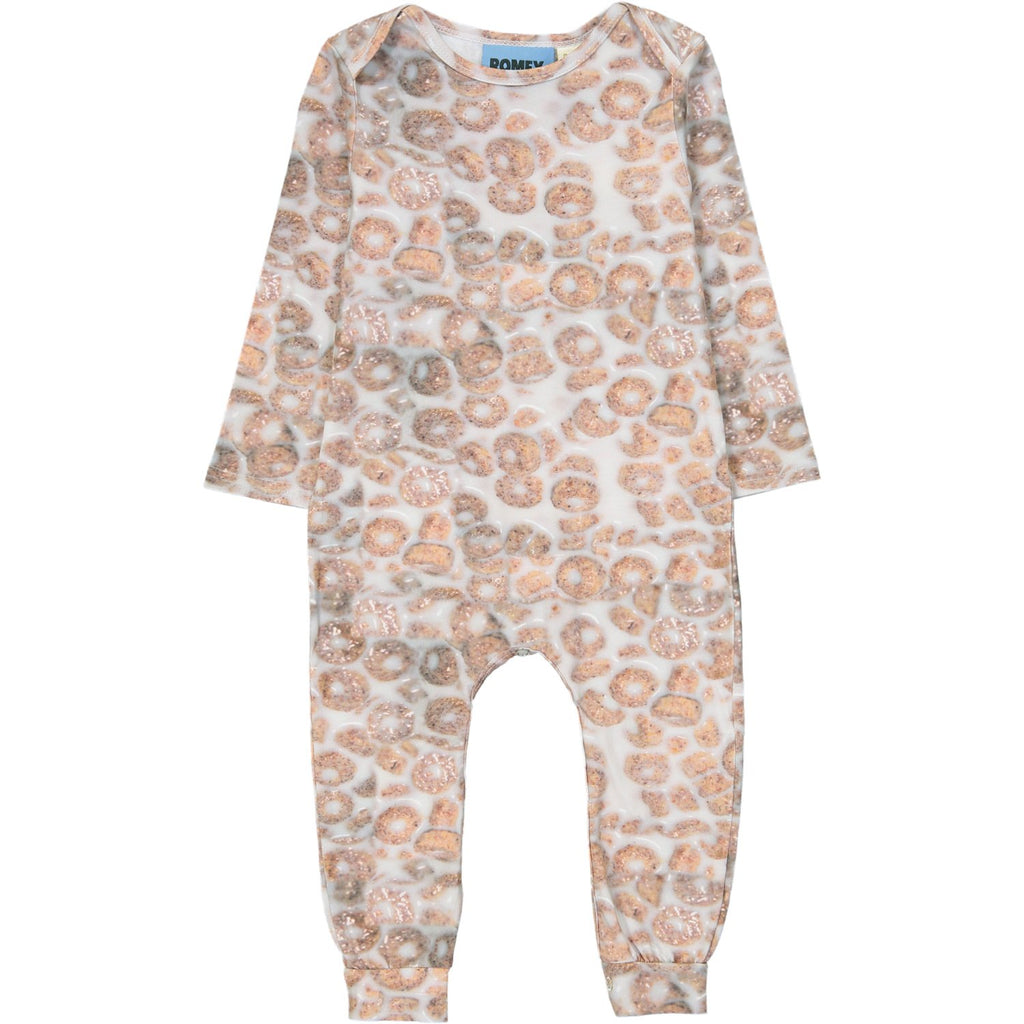 LONG BODY ONESIE - CEREAL