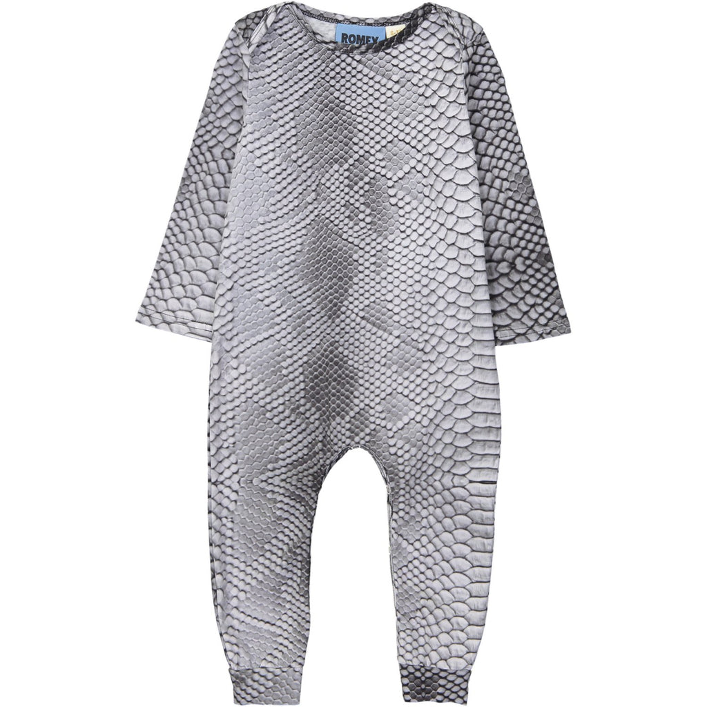 LONG BODY ONESIE - SNAKE SKIN