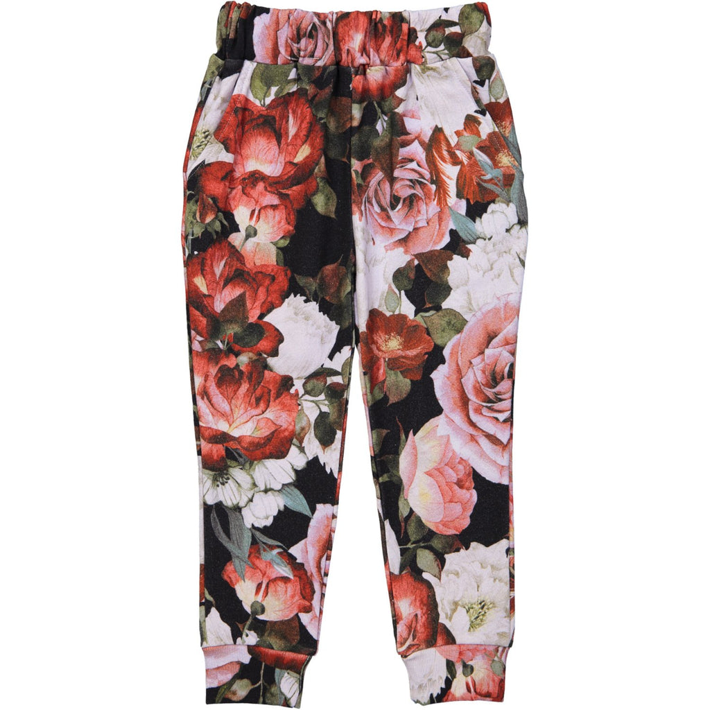 SWEAT PANTS - FLORAL