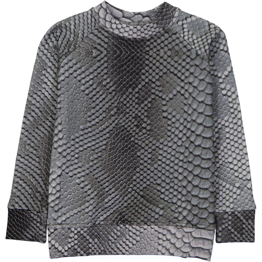 SWEAT SHIRT - SNAKE SKIN