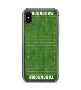 Green Football Field Print Phone Case