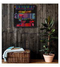 Framed Poster Colors Abstract