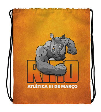 Drawstring Gym Bag Rino Orange
