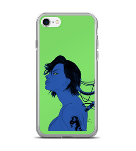 Art cyberpunk comic ghost in the shell Phone Case