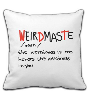 Throw Pillow Weirdmaste