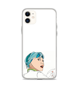 Woman Looking Back Phone Case