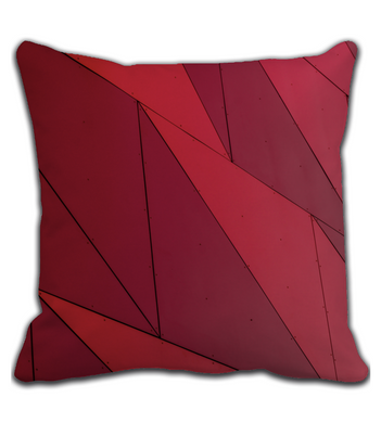 Throw Pillow Creative colors red