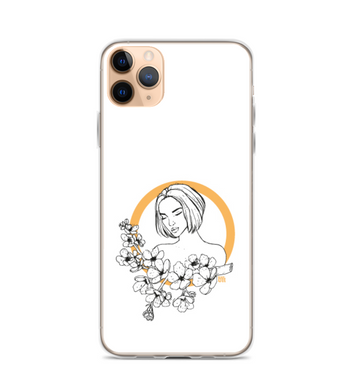Cherry Blossom Girl Phone Case