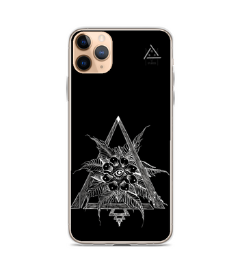 helios star eye rock roll power sun black cool comicart Phone Case