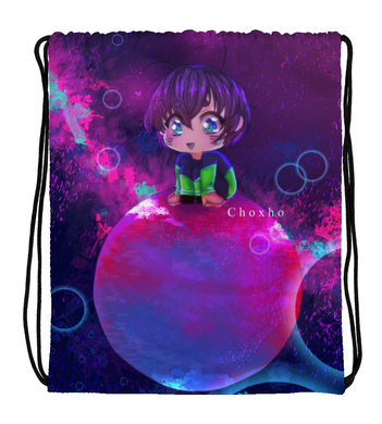 Drawstring Gym Bag My little world