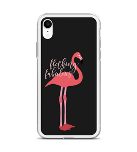 Flocking Fabulous Flamingo Phone Case