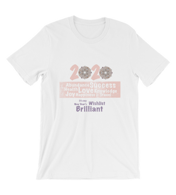 T-Shirt New year's wishes 2020