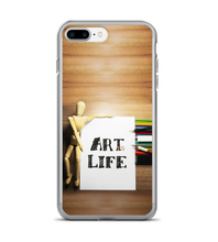 Art is life artist inktober world art day designer articulated mannequin pencils studio Phone Case