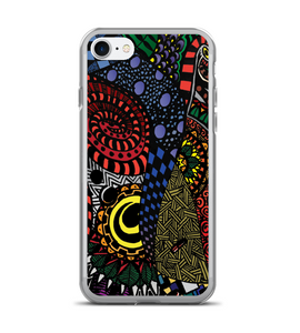 Having a very nice trip wihth psychedelic art Phone Case