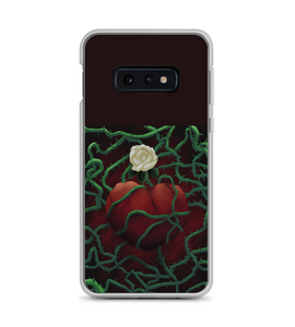 Love rose scars heart heartbroken romance romantic passion hurt boyfriend girlfriend Phone Case