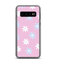 Blue and white flowers Phone Case