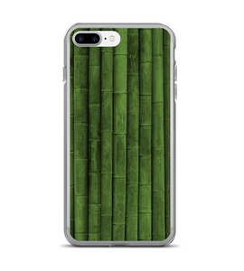 Bamboo Green Print Pattern Phone Case