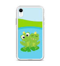 Frog Love Pattern Print Phone Case