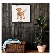Framed Poster Dog