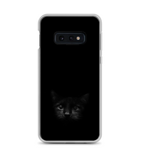 Cat Face Black Phone Case