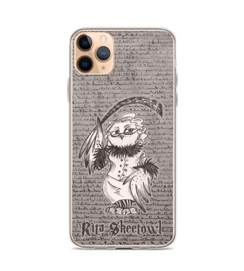 Rita Skeetowl - magic OWL with Quill Phone Case