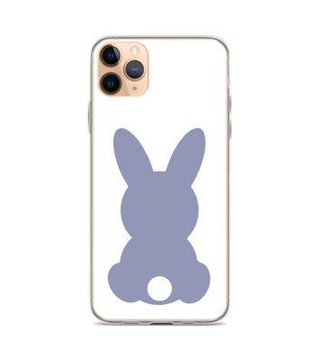 Easter Bunny Butt Print Phone Case