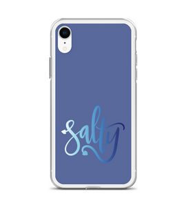 Salty Nautical Anchor Wave Print Phone Case