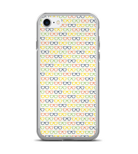 Colored Glasses Print Pattern Phone Case