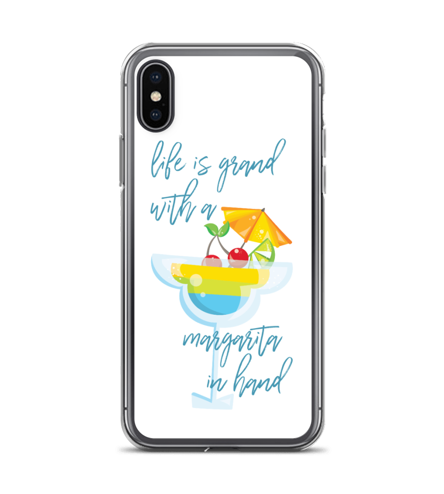 Life Is Good With A Margarita In Hand Phone Case