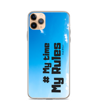 # My time, my rules. Digital Art. Phone Case