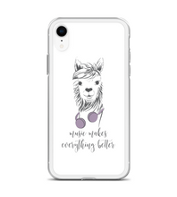 Llama Music Makes Everything Better Phone Case