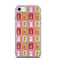 Christmas Stamps Print Phone Case