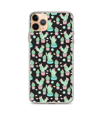 Cactus Pattern Print Phone Case