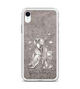 Sowlazar Slowltheryn - magic OWL holding snake and wearing medallion Phone Case