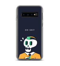 The Panicked Skull Phone Case