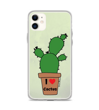 I love cactus! Art made by hand and finished digitally. Phone Case