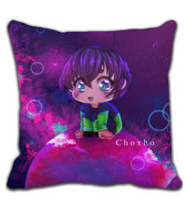 Throw Pillow My little world