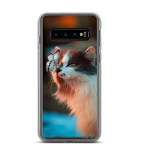 Cat and Butterfly Phone Case