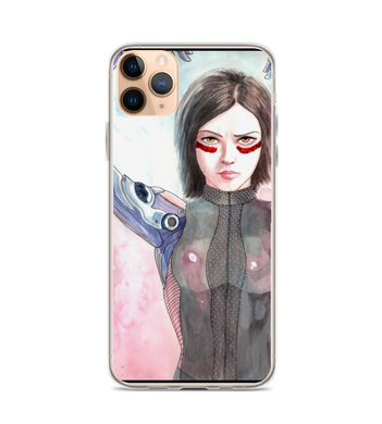 Alita the battle angel art cyberpunk android Phone Case