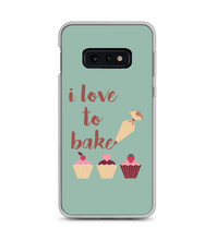 I Love To Bake Piping Cupcake Print Phone Case