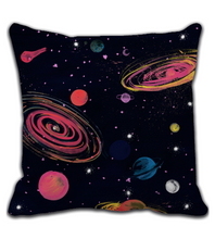 Throw Pillow Planets