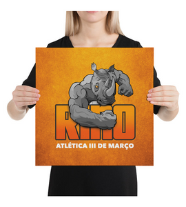 Canvas Rino Orange