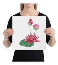 Canvas Lotus