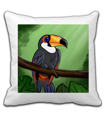 Throw Pillow Tucano
