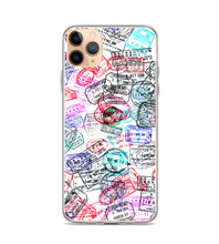 Passport Stamps Print Pattern Phone Case